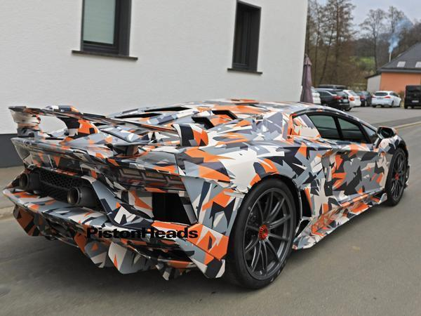Lamborghini Aventador Svj Testing Update Pistonheads