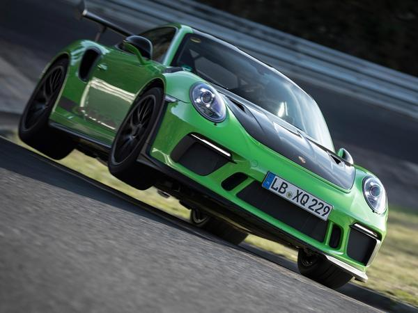 The Porsche 911 GT3 RS lapped the 'Ring in 6:56
