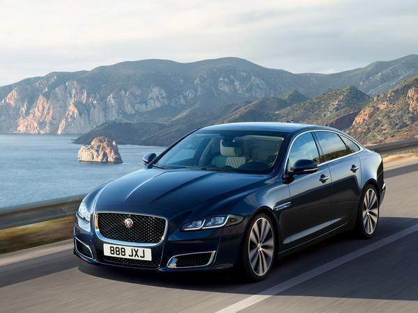 Beijing: Jaguar XJ50 anniversary edition