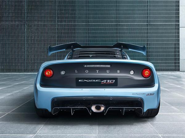 Lotus adds Exige Sport 410 with 410 horsepower