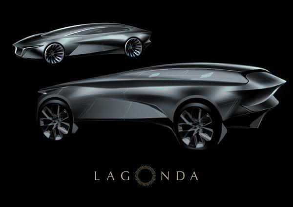 Aston Martin Offers a Peek at Its Lagonda Electric SUV Concept