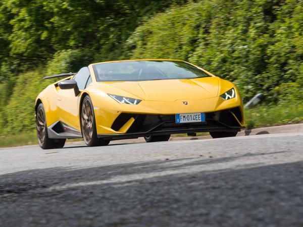 Lamborghini Huracan Performante Spyder Driven Pistonheads