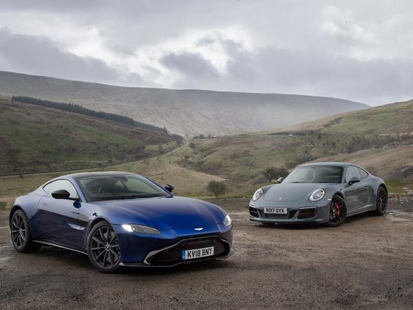 Re Aston Martin Vantage Vs Porsche 911 Carrera Gts Page 1 General Gassing Pistonheads Uk