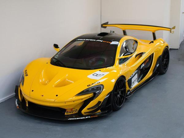 Showpiece Of The Week Mclaren P1 Gtr Pistonheads