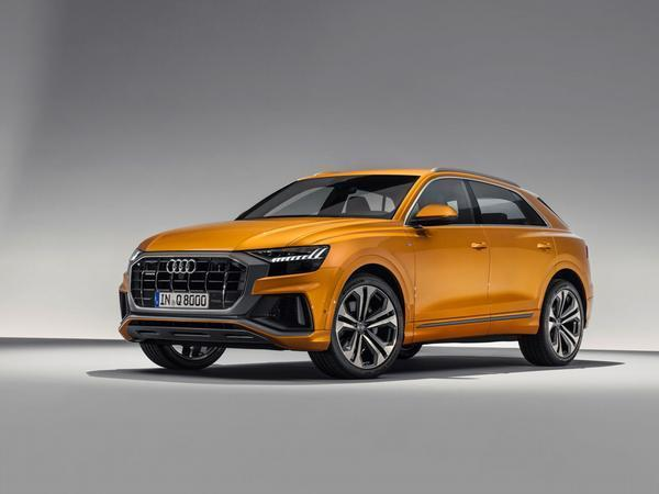 Audi's Q8 flagship SUV. Due later this summer
