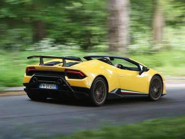 Huracan Performante Spyder Time For Coffee Pistonheads