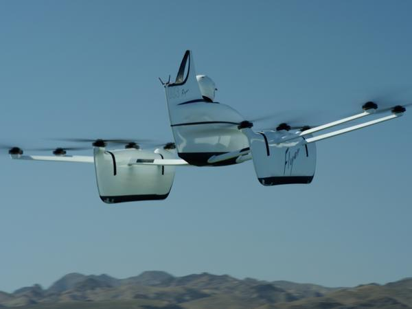 Flying auto : Google founder Larry Page-backed firm develops sci-fi vehicle
