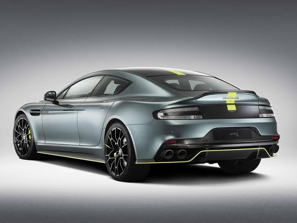 Aston Martin details Rapide AMR with 580 horsepower