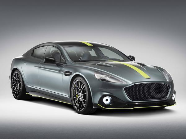 Aston Martin Rapide AMR debuts with 580-hp