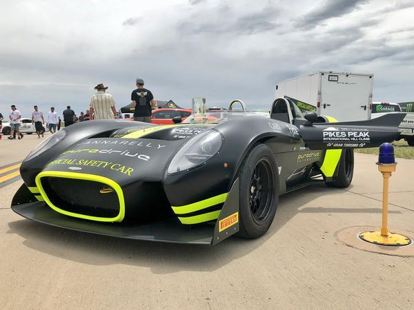 Electric VW claims outright Pike's Peak record