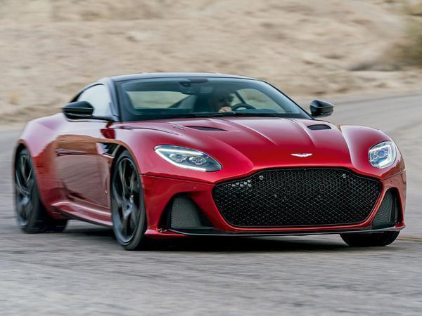 Aston Martin reveals DBS Superleggera as Vanquish replacement