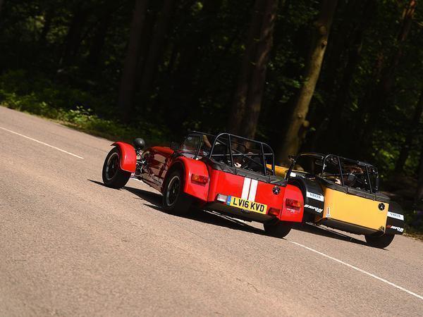 Caterham Seven 310R: Road vs Race | PistonHeads