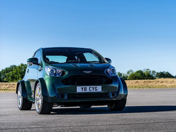 V8 Aston Martin Cygnet revealed