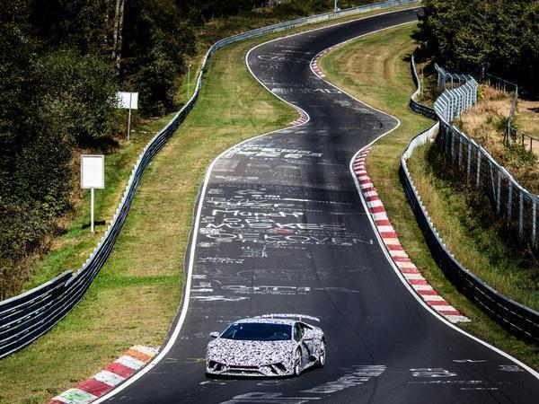 The Lamborghini Aventador SVJ lapped the Nurburgring in 6:44