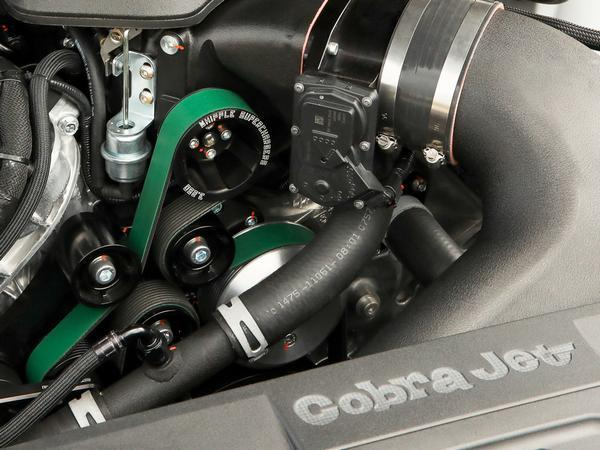 Ford Mustang Cobra Jet debuts with 5.2-liter supercharged V-8