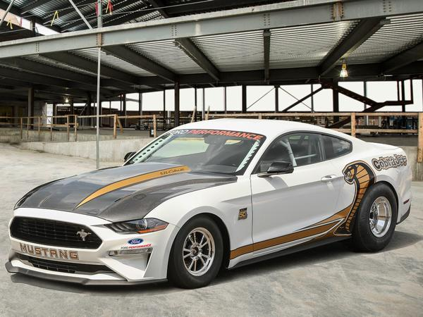 Ford Mustang Cobra Jet revealed and is now much louder
