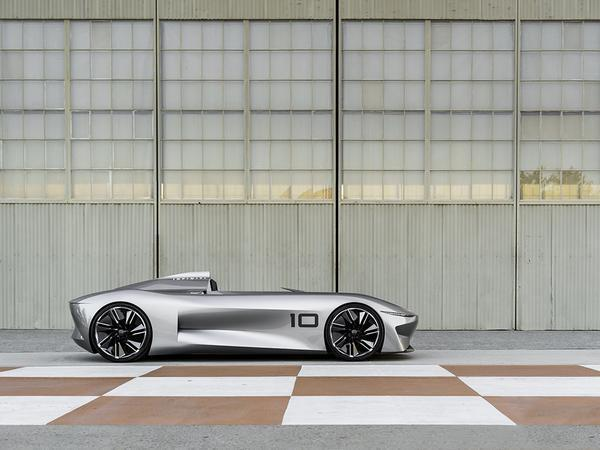Infiniti has presented a new electric hypercar