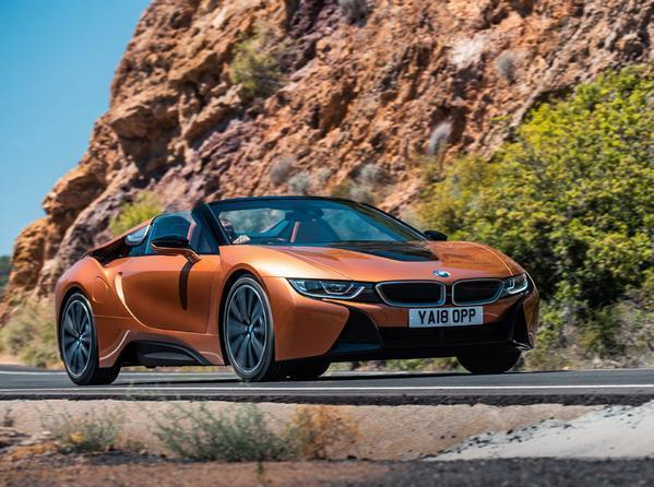 Bmw I8 Roadster Driven Pistonheads