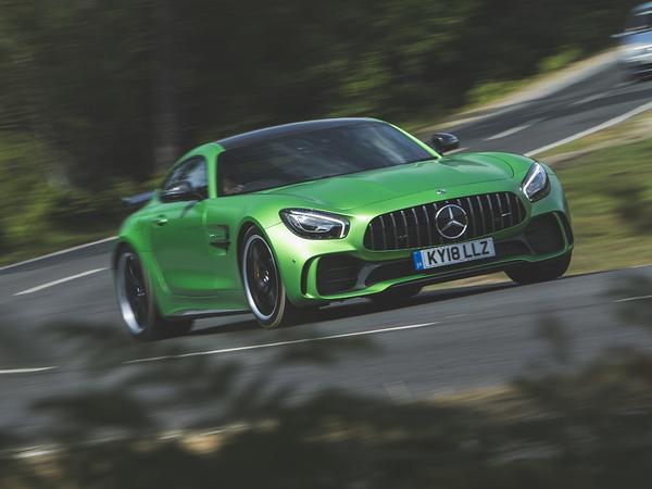 A45 vs GT R: The Mercedes-AMG Acid Test   PistonHeads