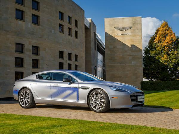 re: aston martin rapide e details - page 1 - general gassing
