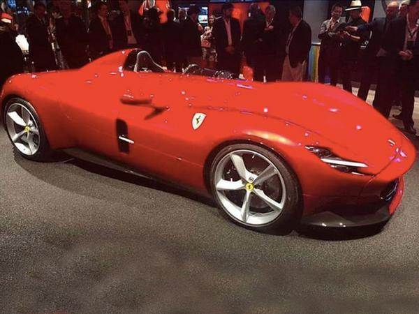 RE New Ferrari Monza SP1 and SP2 first look , Page 1