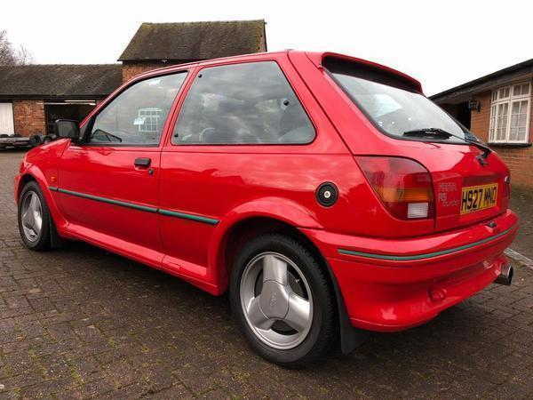 ford fiesta rs turbo spotted pistonheads. Black Bedroom Furniture Sets. Home Design Ideas