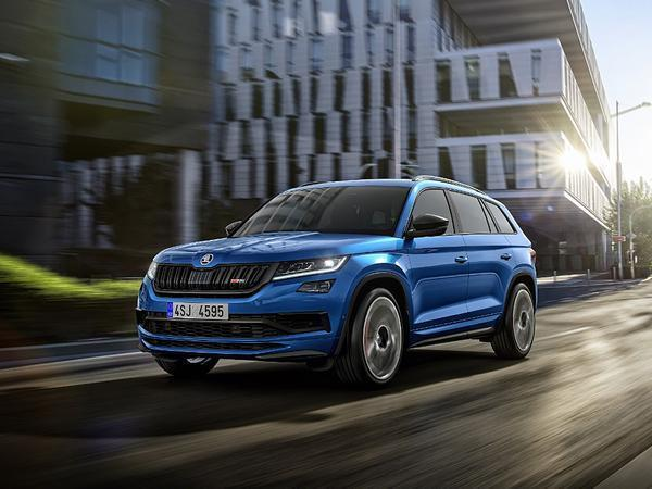 Paris Motor Show: New Skoda Kodiaq RS Leaked Ahead Of Official Debut