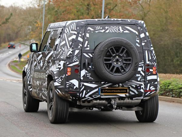 2020 Land Rover Defender New Sighting Automoto Tale