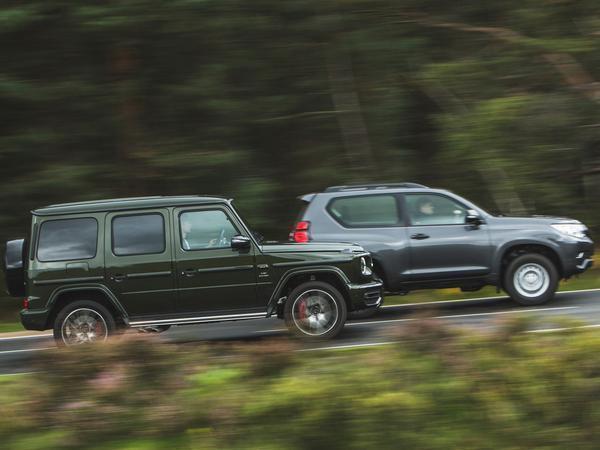 Mercedes-AMG G63 vs Toyota Land Cruiser Utility | PistonHeads
