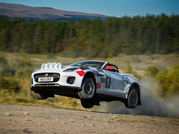 Jaguar's Rally-Spec F-Type Convertibles Are All Kinds Of Awesome