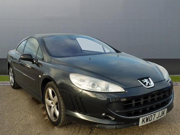peugeot 407 coupe: spotted | pistonheads