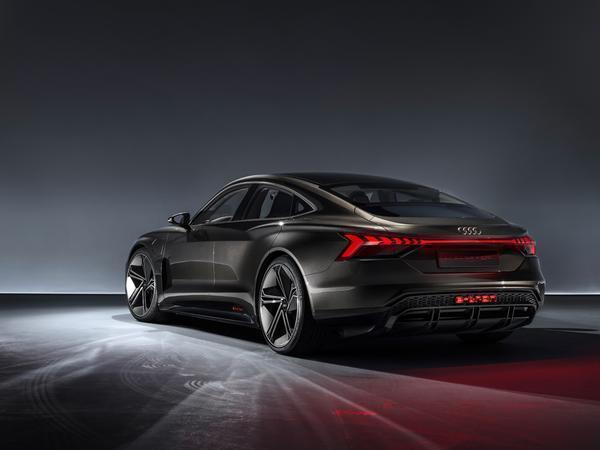 Audi Debuts Tesla Rival With 590-Horsepower Electric E-Tron GT Concept