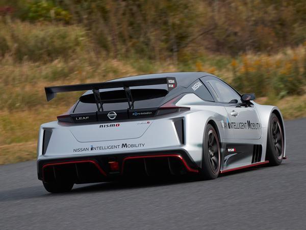 Nissan Reveals The Leaf Nismo RC Electric Race Car