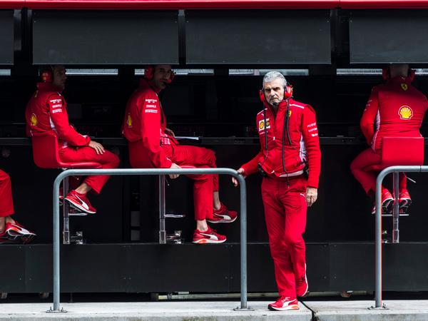 Binotto replaces Arrivabene as Ferrari team principal