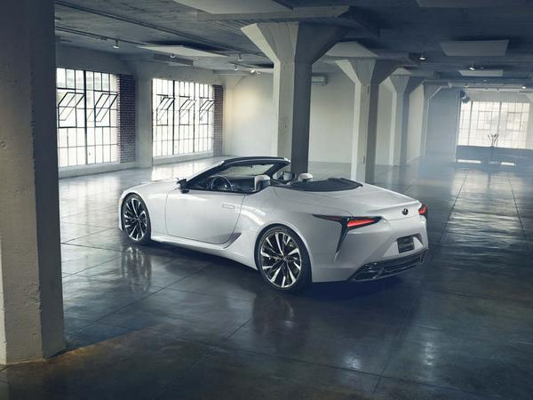 Behold, the rather lovely Lexus LC Convertible