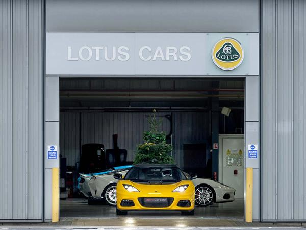 Lotus Cars to be made at Geely factory in China