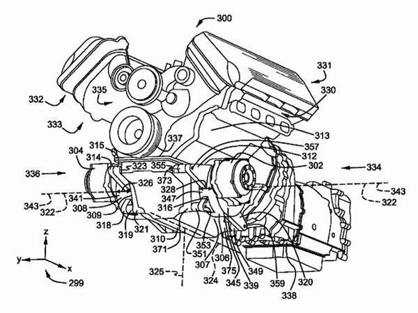 Ford Patents Hybrid Mustang Powertrain