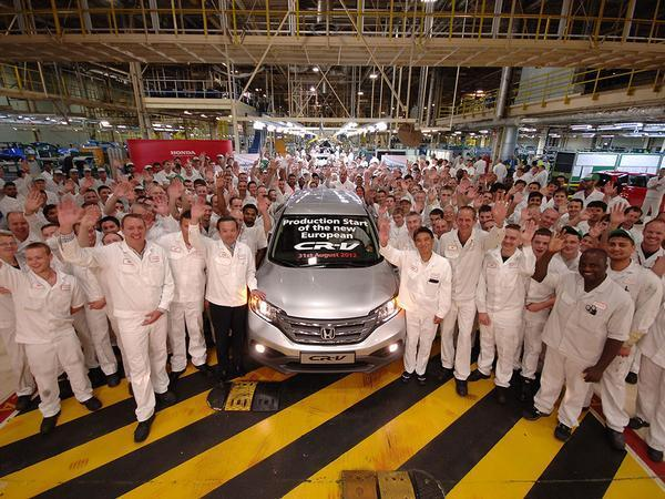 Honda preparing to announce United Kingdom factory closure