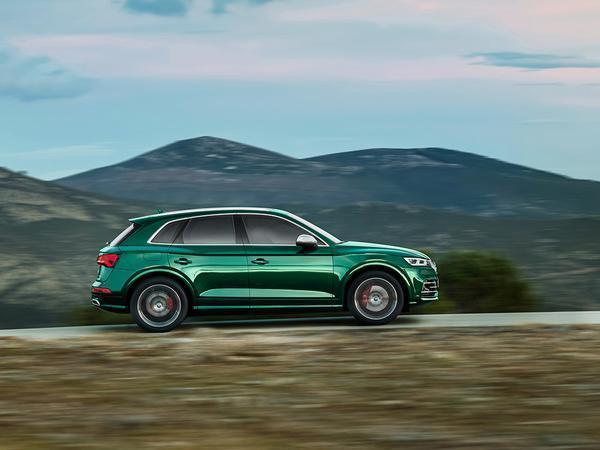The 347-HP Audi SQ5 TDI uses electric turbocharging to eliminate lag
