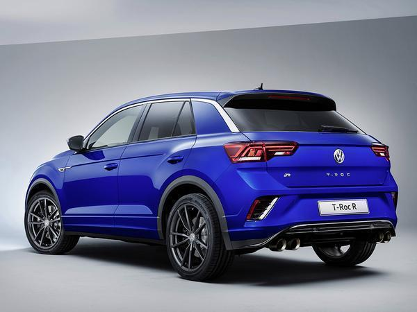 Here is Volkswagen's new T-Roc R SUV