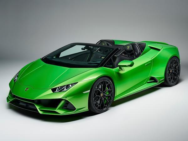 Lamborghini Huracan Evo Spyder Revealed Pistonheads