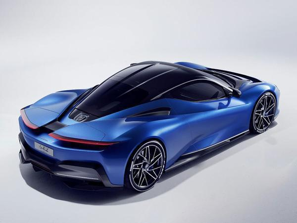 New electric hypercar capable of hitting 100 km/h in under two seconds
