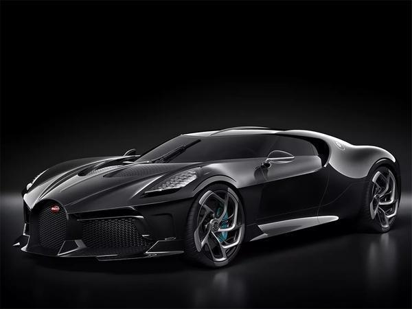Bugatti La Voiture Noir Is a $12.5 Million One-Off Atlantic Tribute