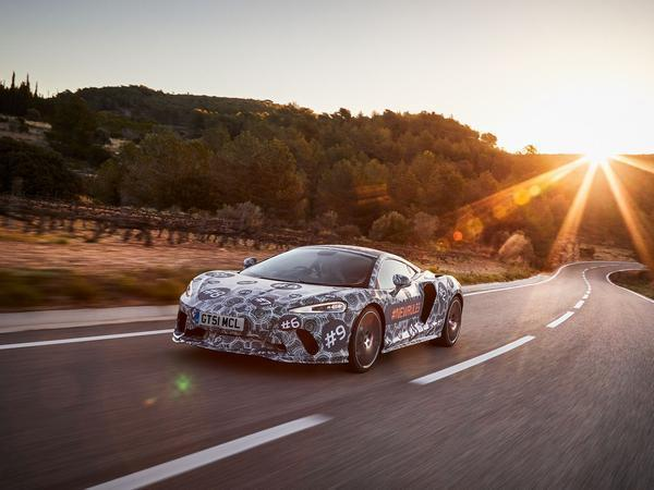 McLaren teases new grand tourer ahead of full May reveal