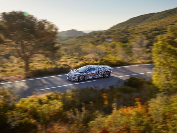 McLaren reveals more of its new grand tourer model