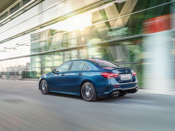 Mercedes-AMG A35 Sedan - the smallest performance sedan from AMG unveiled