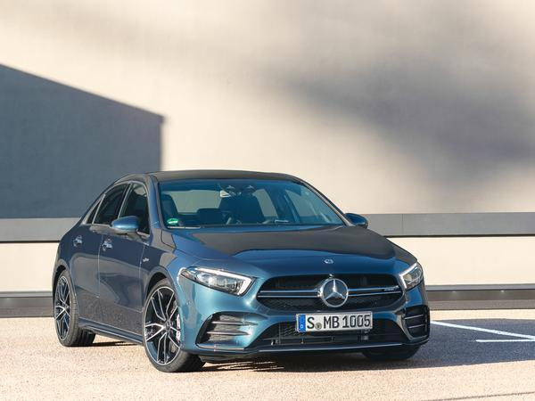 New entry-level Mercedes-AMG A35 4MATIC Saloon introduced