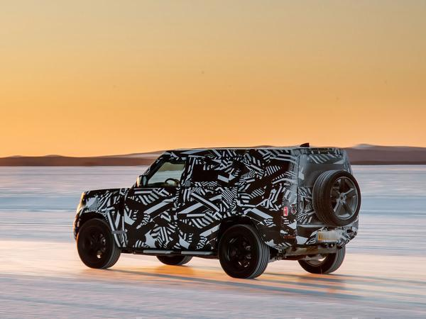 Land Rover Defender Enters Final Phase of Testing in Africa