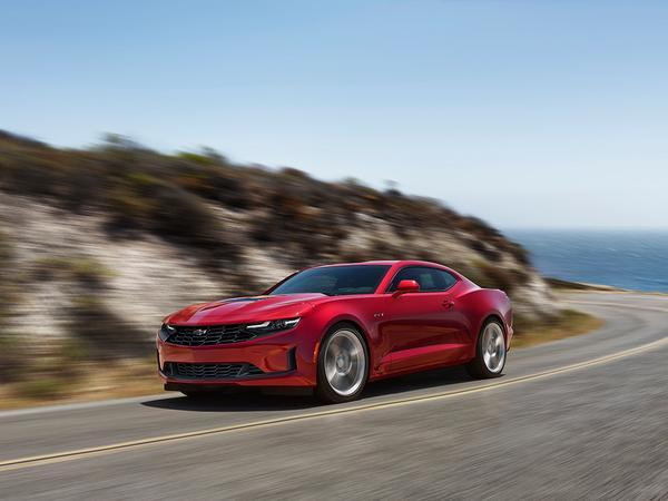 Chevrolet Camaro gets a nose job, value upgrades
