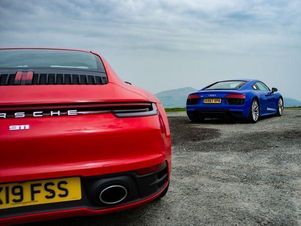 Porsche 911 Carrera S Vs Audi R8 Rws Ph Video Pistonheads